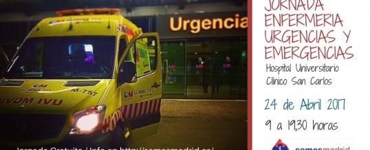 I Jornada Enfermería de Urgencias y Emergencias de Madrid
