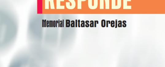 "PROGRAMA FORMATIVO ""RESPONDE"" MEMORIAL BALTASAR OREJAS"