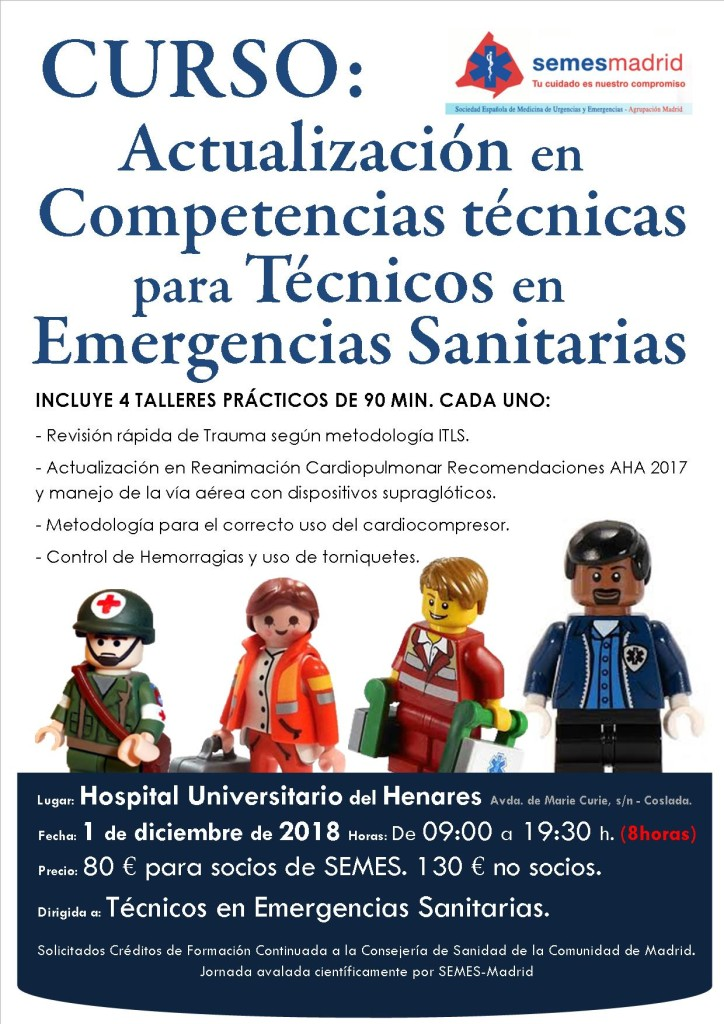 CURSO ACTUALIZACION COMPETENCIAS TECNICAS PARA TES