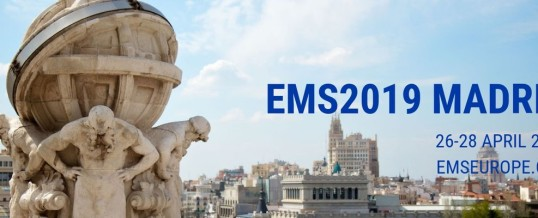 EMS Congress 2019 Madrid