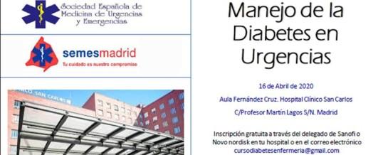 VII Jornada de Enfermería sobre Manejo de la Diabetes en Urgencias
