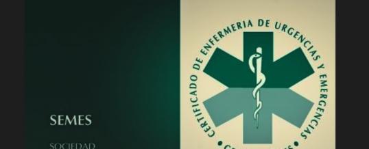 APERTURA CONVOCATORIA CEUE (Certificado de Enfermería de Urgencias y Emergencias)
