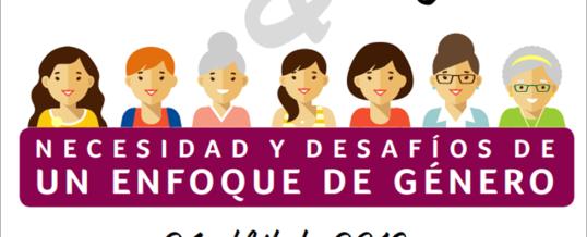 Salud y mujer: necesidad y desafíos de un enfoque de género