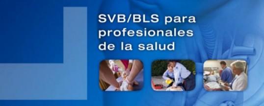 SOPORTE VITAL BÁSICO (SVB/BLS) PARA PROFESIONALES DE LA SALUD (SVB + DEA)