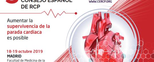 III Congreso Nacional del Consejo Español de RCP en Madrid