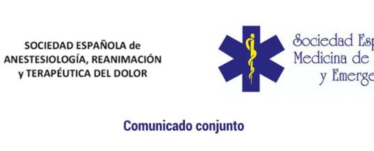 """Comunicado conjunto de SEMES y SEDAR tras conocerse el plan de """"transición hacia una nueva normalidad"""""""