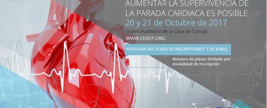 El próximo mes de Octubre se celebrará en Madrid el I Congreso del Consejo Español de RCP