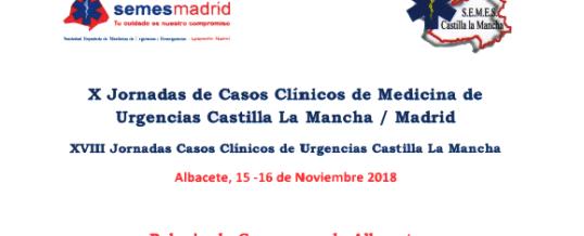 X Jornadas de Casos clinicos de Medicina de Urgencias Castilla La Mancha / Madrid