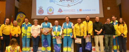 500 Técnicos De Emergencias Sanitarias se dieron cita en la I #JornadaTES organizada por SEMES-Madrid, SUMMA 112 Y SAMUR Protección Civil